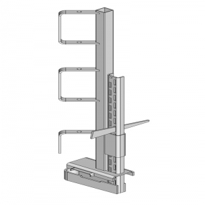 Guide rail clamp