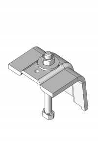 Waling clamp