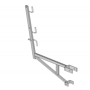 Beam wall bracket
