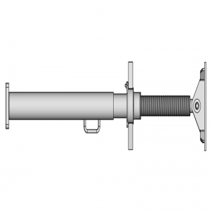 Spindle element with end - hinge