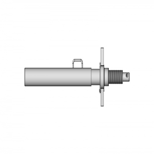 Spindle head without end-hinge